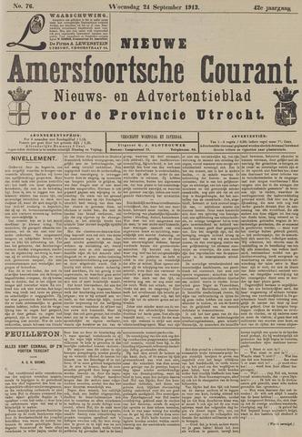 Nieuwe Amersfoortsche Courant 1913-09-24