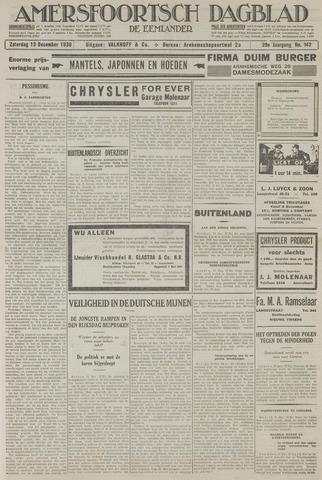 Amersfoortsch Dagblad / De Eemlander 1930-12-13