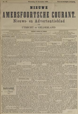 Nieuwe Amersfoortsche Courant 1895-11-13