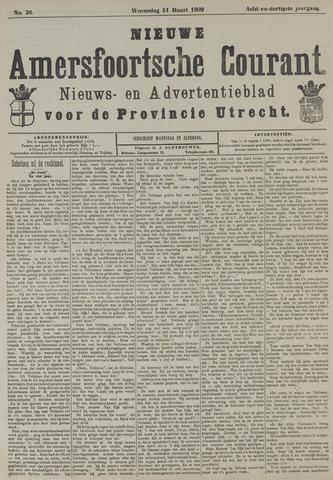 Nieuwe Amersfoortsche Courant 1909-03-31