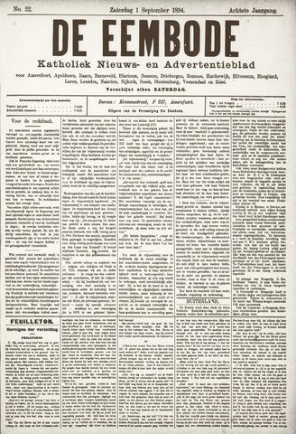 De Eembode 1894-09-01
