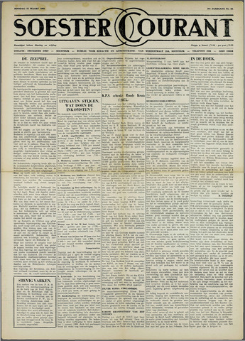 Soester Courant 1960-03-22