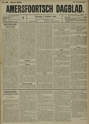 Amersfoortsch Dagblad 1909-10-02