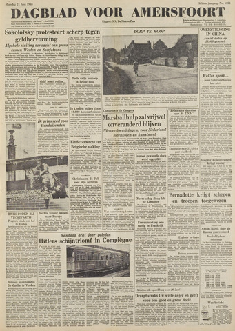 Dagblad voor Amersfoort 1948-06-21