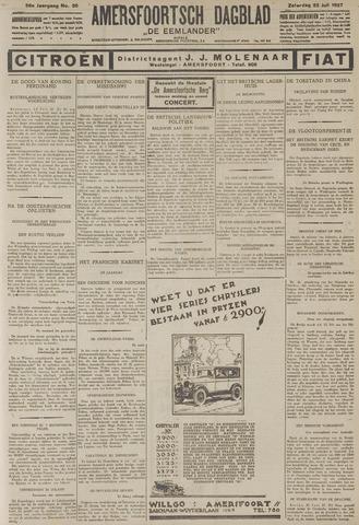 Amersfoortsch Dagblad / De Eemlander 1927-07-23