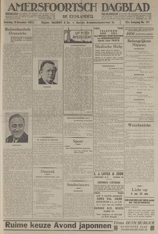 Amersfoortsch Dagblad / De Eemlander 1933-11-18