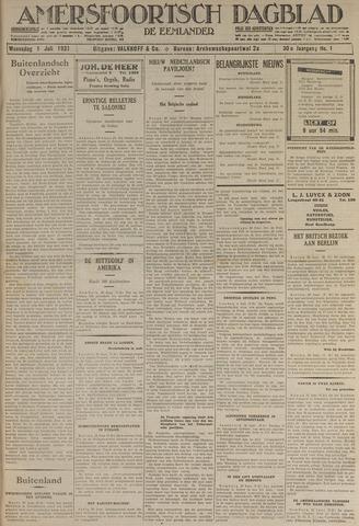 Amersfoortsch Dagblad / De Eemlander 1931-07-01
