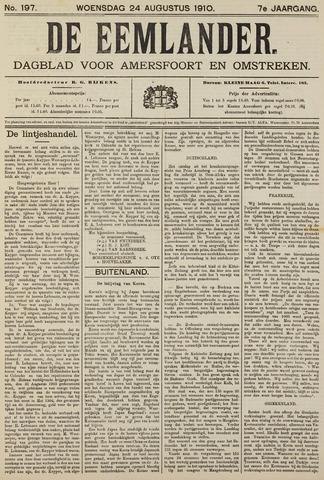 De Eemlander 1910-08-24