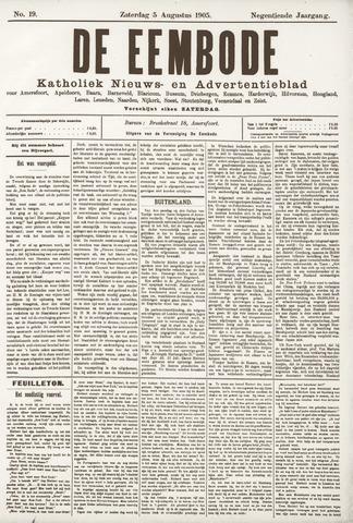De Eembode 1905-08-05