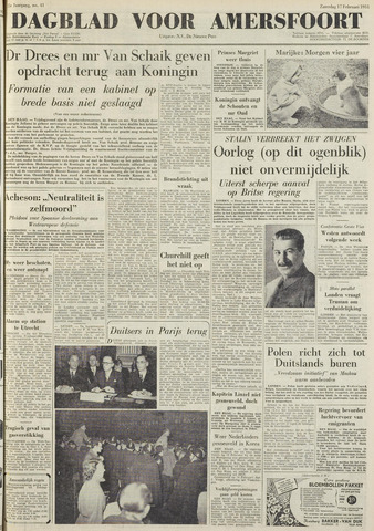 Dagblad voor Amersfoort 1951-02-17
