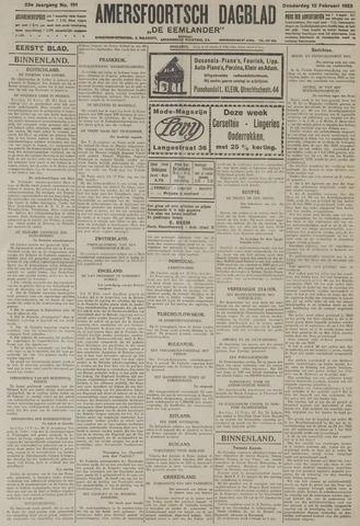 Amersfoortsch Dagblad / De Eemlander 1925-02-12