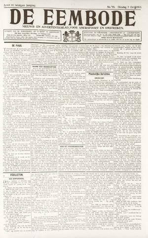 De Eembode 1913-10-07