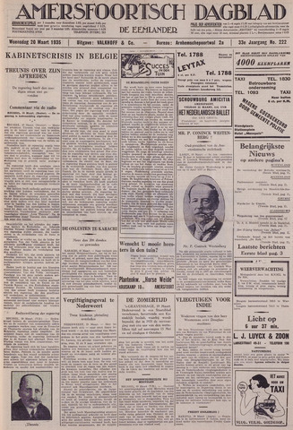 Amersfoortsch Dagblad / De Eemlander 1935-03-20