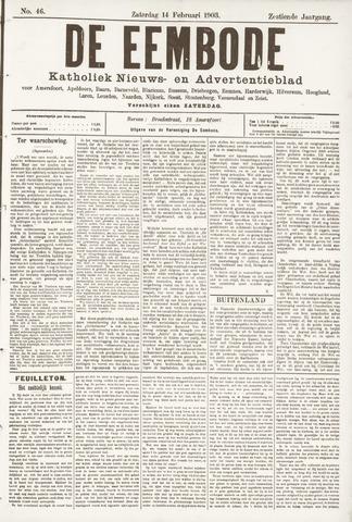De Eembode 1903-02-14
