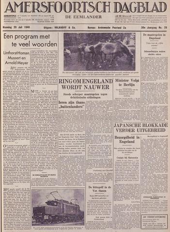 Amersfoortsch Dagblad / De Eemlander 1940-07-29