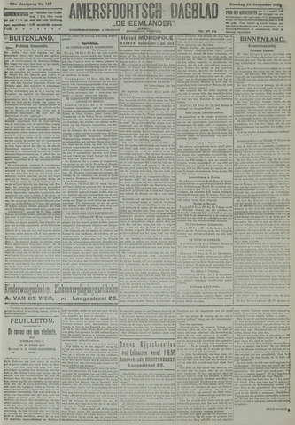 Amersfoortsch Dagblad / De Eemlander 1921-12-20