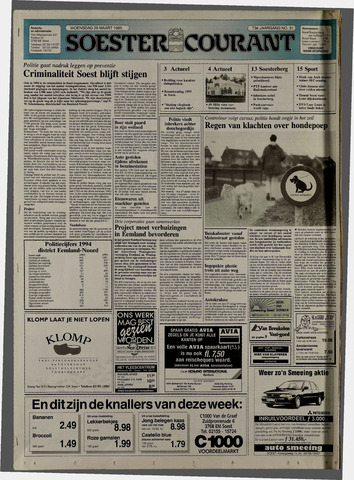 Soester Courant 1995-03-29
