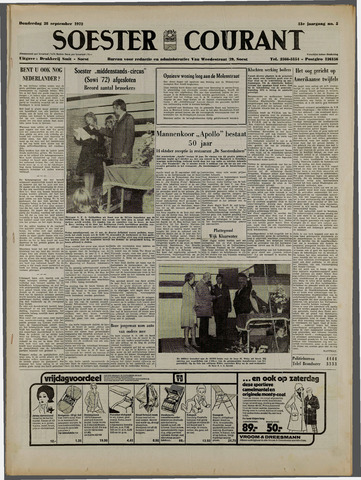 Soester Courant 1972-09-28