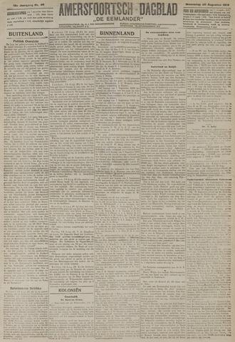 Amersfoortsch Dagblad / De Eemlander 1919-08-20