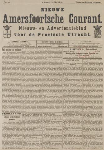 Nieuwe Amersfoortsche Courant 1910-05-25