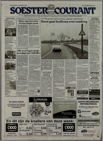 Soester Courant 2003-01-15