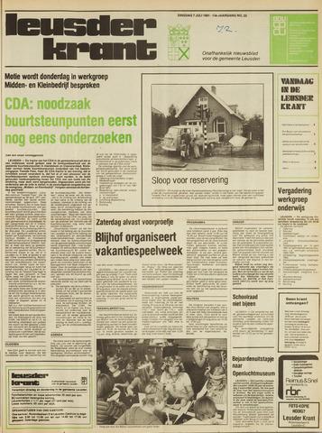 Leusder Krant 1981-07-07