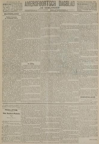 Amersfoortsch Dagblad / De Eemlander 1918-09-23
