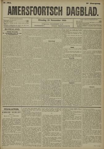 Amersfoortsch Dagblad 1910-11-29