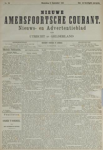 Nieuwe Amersfoortsche Courant 1892-09-21