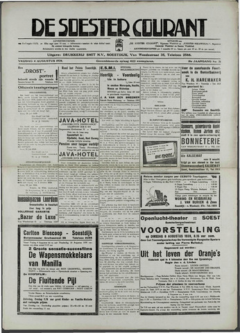 Soester Courant 1939-08-04