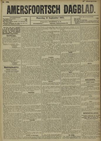 Amersfoortsch Dagblad 1905-09-18
