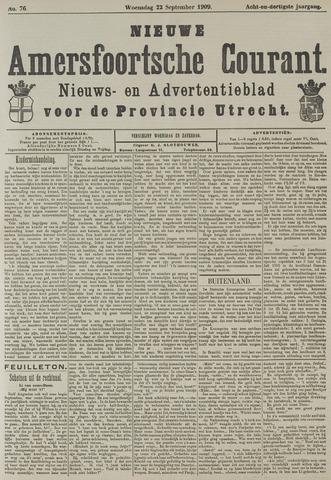 Nieuwe Amersfoortsche Courant 1909-09-22