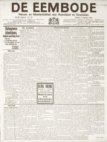 De Eembode 1914-08-04