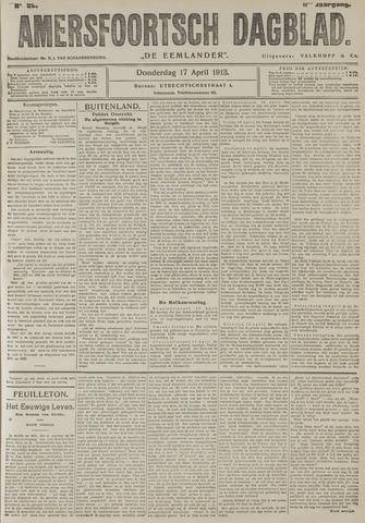 Amersfoortsch Dagblad / De Eemlander 1913-04-17