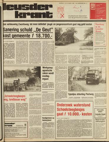 Leusder Krant 1982-11-09