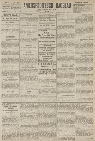 Amersfoortsch Dagblad / De Eemlander 1927-04-04