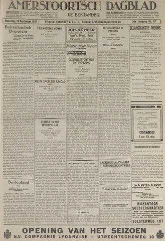 Amersfoortsch Dagblad / De Eemlander 1931-09-16