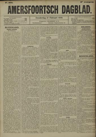 Amersfoortsch Dagblad 1908-02-27