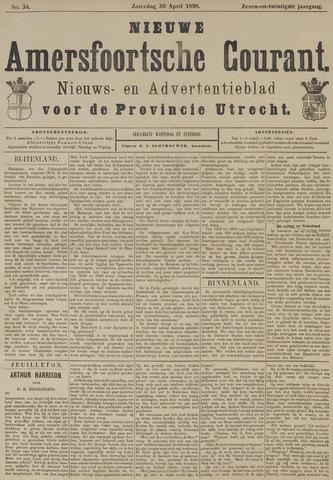 Nieuwe Amersfoortsche Courant 1898-04-30