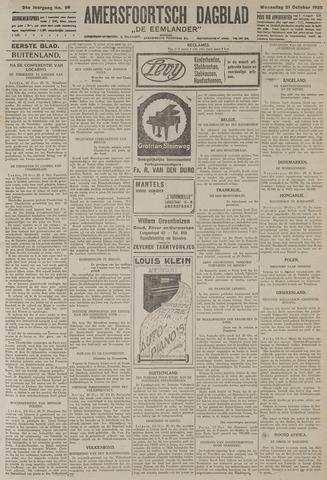 Amersfoortsch Dagblad / De Eemlander 1925-10-21
