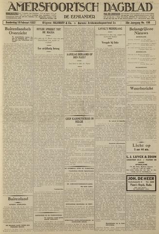 Amersfoortsch Dagblad / De Eemlander 1932-02-18