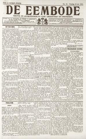 De Eembode 1913-07-22