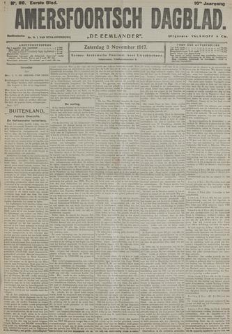 Amersfoortsch Dagblad / De Eemlander 1917-11-03