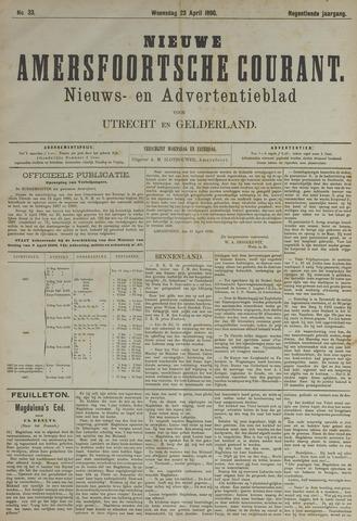 Nieuwe Amersfoortsche Courant 1890-04-23