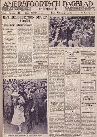 Amersfoortsch Dagblad / De Eemlander 1936-09-11