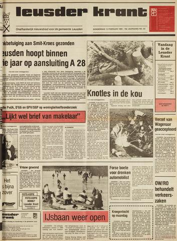 Leusder Krant 1985-02-14