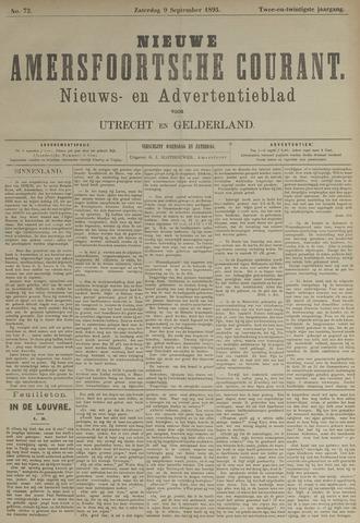 Nieuwe Amersfoortsche Courant 1893-09-09