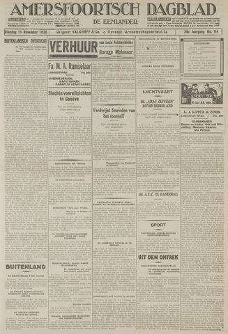Amersfoortsch Dagblad / De Eemlander 1930-11-11