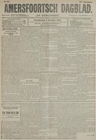 Amersfoortsch Dagblad / De Eemlander 1916-10-05