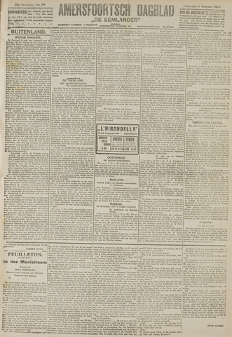 Amersfoortsch Dagblad / De Eemlander 1922-10-09